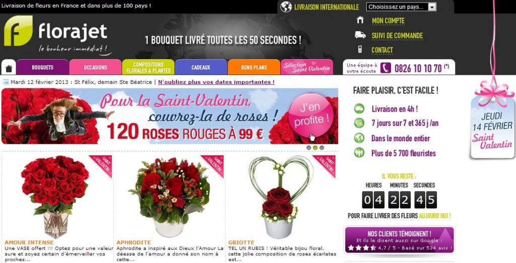 Les fleuristes en ligne profitent de la st valentin le for Fleuristes en ligne